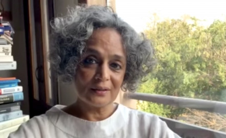 """Arundhati Roy: """"The Pandemic Is a Portal"""""""