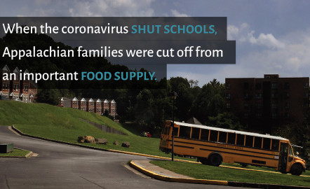 How to Get Food Where It's Needed in Appalachia? School Buses