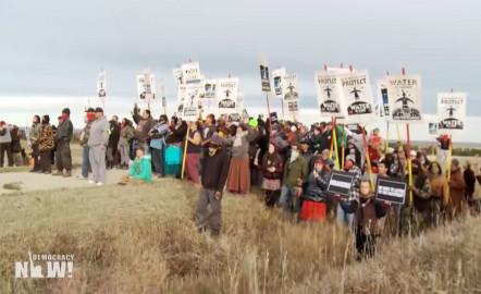 Water Protectors Celebrate as Dakota Access Pipeline Ordered to Shut Down