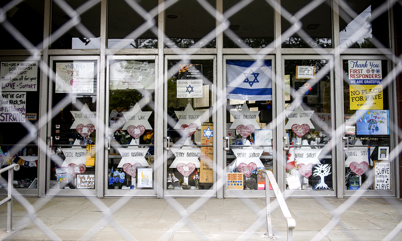 A Year After the Tree of Life Shooting, Anti-Semitism and Anti-Immigrant Racism Thrive
